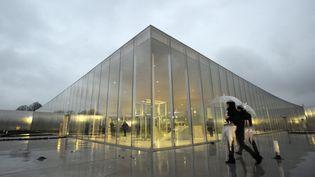 Vue extérieure du Louvre-Lens (YOAN VALAT / EPA FILE)