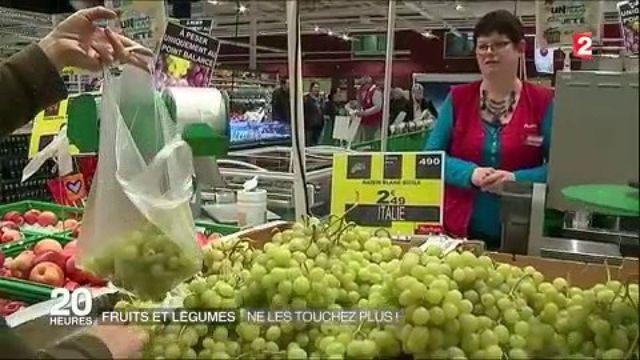 Gaspillage alimentaire : la fin de la vente en libre-service des fruits et légumes ?