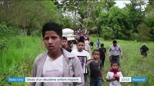 États-Unis : décès d'un deuxième enfant migrant