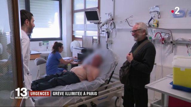 Urgences : grève illimitée à Paris