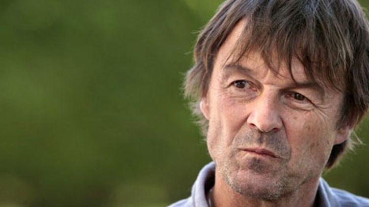 Nicolas Hulot a dû s'incliner face à l'eurodéputée Eva Joly dans la primaire écologiste. (AFP - Kenzo Tribouillard)