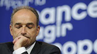 Le président démissionnaire de l'UMP Jean-François Copé, le 21 mai 2014, à Paris. ( WITT / SIPA)