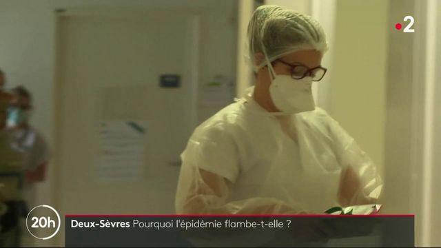 Covid-19 : flambée de l'épidémie dans les Deux-Sèvres