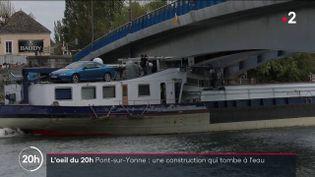 Yonne: comment le département a refait un pont à neuf… mais trop bas (FRANCE 2)