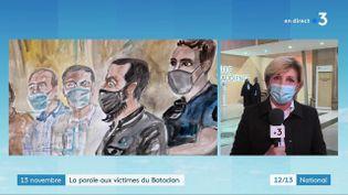 Après les proches des attaques du Stade de France et des terrasses de Paris, ce sont ceux des victimes du Bataclan, qui vont témoigner, à partir de mercredi 6 octobre, dans le procès du 13-Novembre. (CAPTURE D'ÉCRAN FRANCE 3)