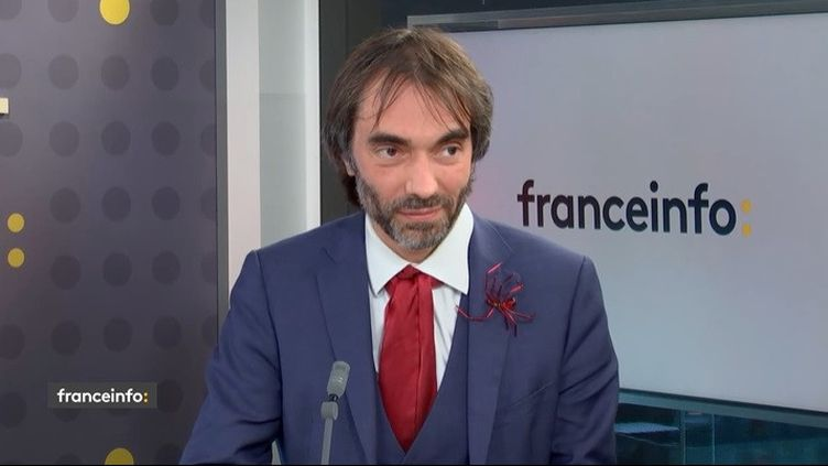 Cédric Villani, invité du 18.50 franceinfo: (CAPTURE ECRAN / FRANCEINFO)