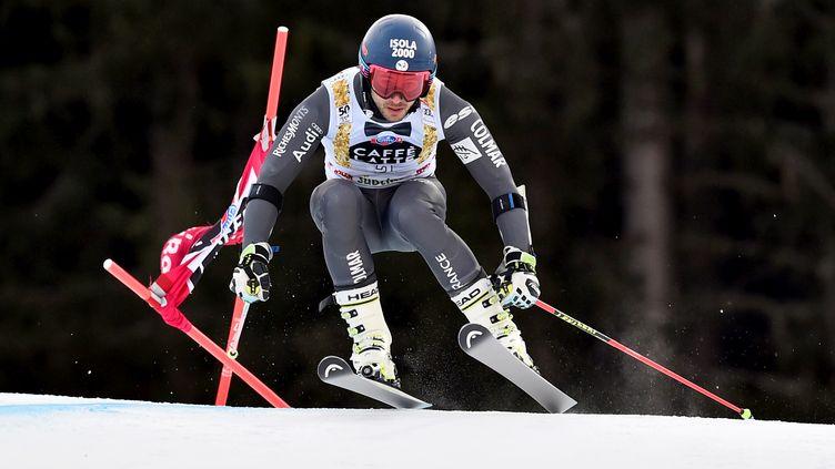 Le skieur français Mathieu Faivre (GIUSEPPE CACACE / AFP)