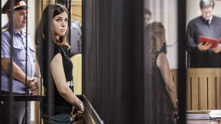 Nadezhda Tolokonnikova, l'une des Pussy Riot emprisonnées  (ANDREY STENIN / RIA NOVOSTI)