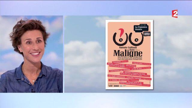 Noémie Caillault raconte avec humour son cancer