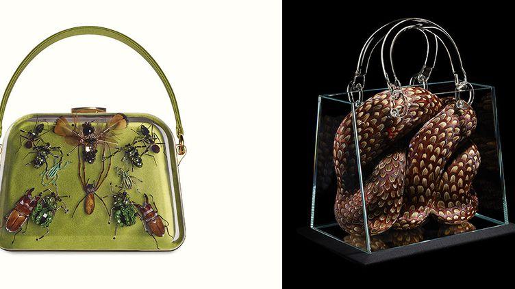 Promenade pour un objet d'exception : Prada (à gauche) et Dior (à droite)  (Comité Montaigne )