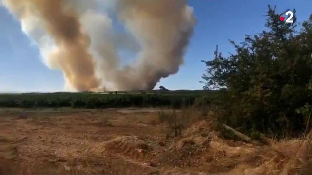 Incendies : un bombardier en intervention s'écrase, le pilote est décédé