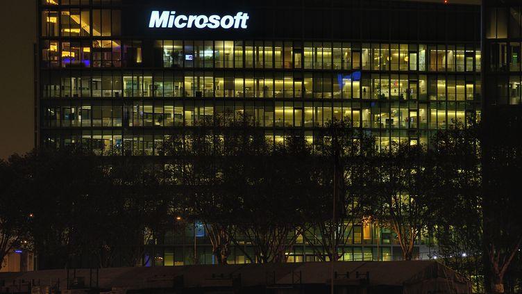 Le siège français de Microsoft, à Issy-les-Moulineaux (Hauts-de-Seine). (LIONEL LOURDEL / PHOTONONSTOP / AFP)
