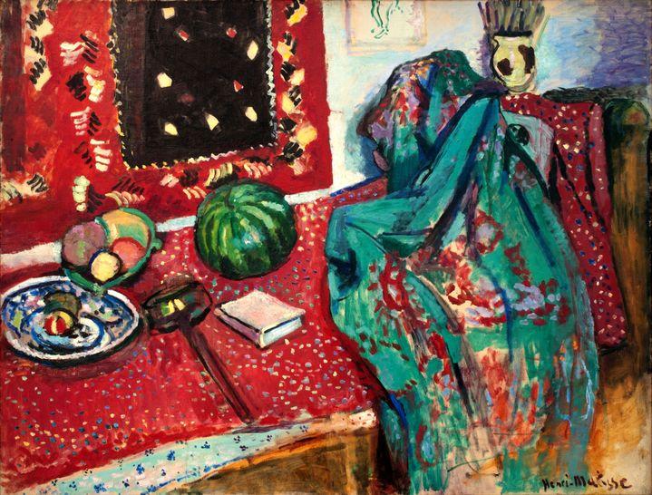 """Henri Matisse, """"Les Tapis rouges"""", 1906, Musée de Grenoble (© Succession H. Matisse - Photo © Ville de Grenoble / Musée de Grenoble- J.L. Lacroix)"""