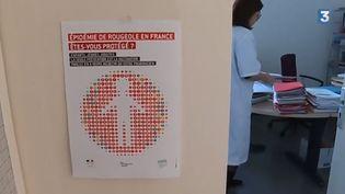 Rougeole à Bordeaux (FRANCE 3)