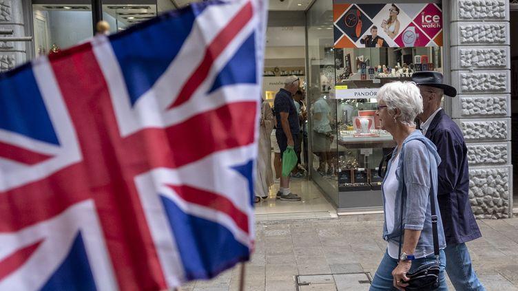 Dans une rue de Gibraltar. (ALVARO FUENTE / NURPHOTO)