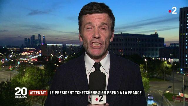 Attentat à Paris : pour Ramzan Kadyrov, la responsabilité incombe à la France