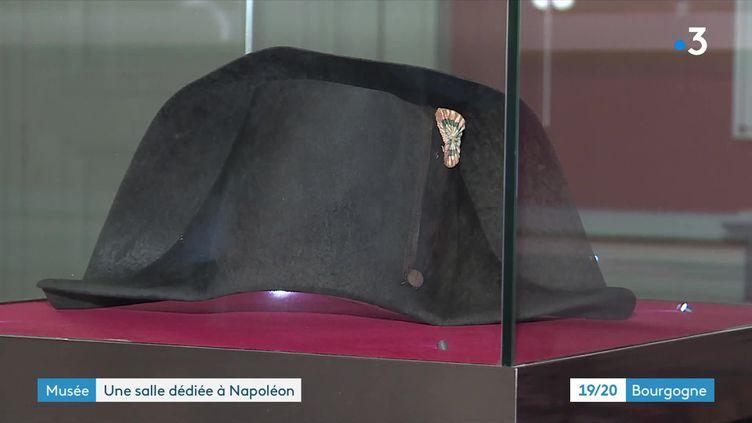 Le bicorne que portait Napoléon à Waterloo fait partie des collections des musées de Sens (France 3 Bourgogne Franche-Comté)