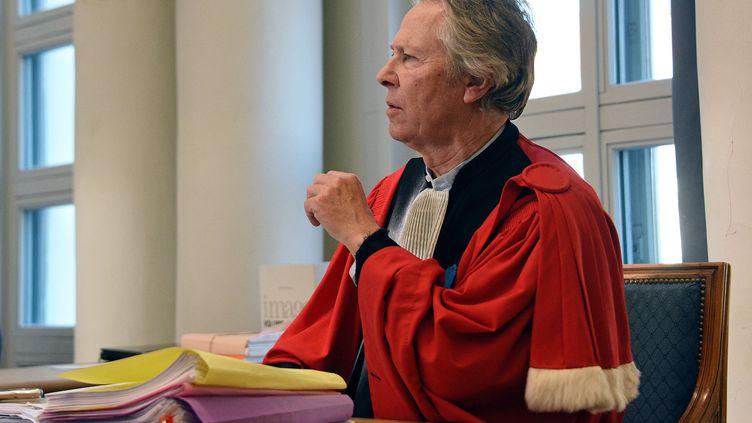 L'ancien procureur Luc Frémiot à la cour d'Assises de Douai en 2016. (DENIS CHARLET / AFP)