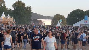 Festival de musique des Eurockéennes sur la presqu'île du Malsaucy près de Belfort du 4 au 7 juillet 2019. (RÉGINE JESSEL / FRANCE-BLEU BELFORT-MONTBÉLIARD)