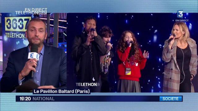 Le Téléthon perturbé par l'hommage rendu à Johnny Hallyday