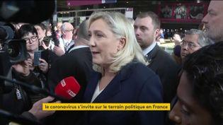 Marine Le Pen au Salon de l'agriculture (FRANCEINFO)