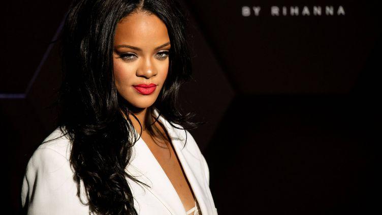 La chanteuse Rihanna le 17 septembre 2019 à Séoul en Corée (STEVE CHO/PENTA PRESS/REX/SIPA / SHUTTERSTOCK)