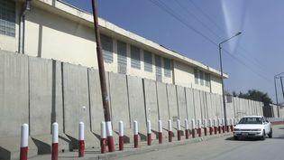 L'Université américaine, à Kaboul, le 8 août 2016. (RAHMAT GUL/AP/SIPA)