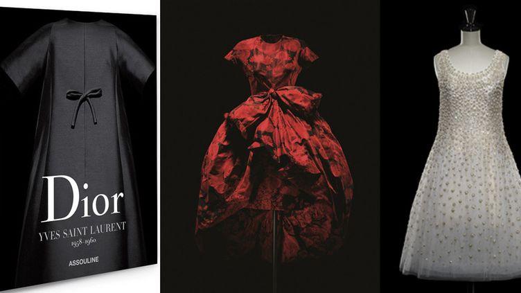 """L'ouvrage """"Dior par Yves Saint Laurent"""". 1958-1960. Editions Assouline  (Dior)"""