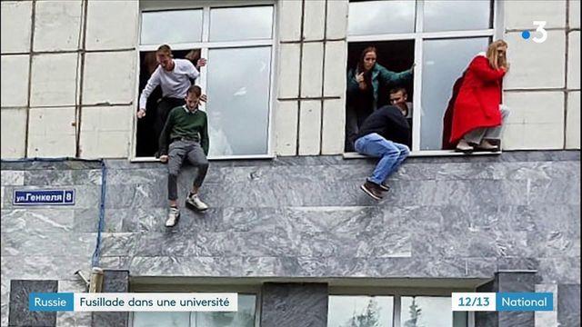 Fusillade en Russie : au moins six morts à l'université de Perm, le tireur arrêté