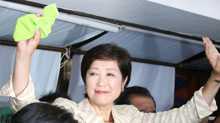 (Yuriko Koike élue gouverneur de Tokyo © MITSURU TAMURA / YOMIURI / THE YOMIURI SHIMBUN)