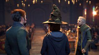 Premières images d'Hogwarts legacy : l'héritage de Poudlard qui sortira en 2021, dans la bande-annonce officielle du jeu dévoilée par PlayStation le 16 septembre 2020 . (FRANCEINFO / RADIOFRANCE)