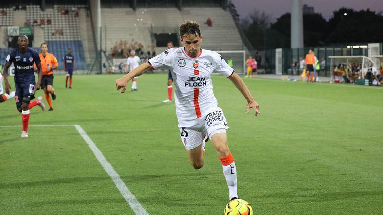 Lorient l'emporte 2-1 à Châteauroux.  (T.ROULLIAUD / MAXPPP)
