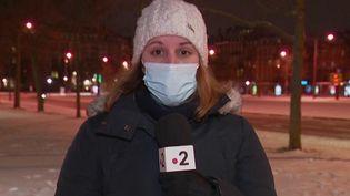 Neige : 12 départements placés en vigilance orange grand froid (France 2)