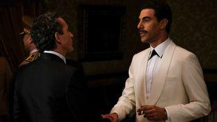 Sacha Baron Cohen incarne l'espion Eli Cohen dans la nouvelle série de Gideon Raff. (AXEL DECIS/OCS)
