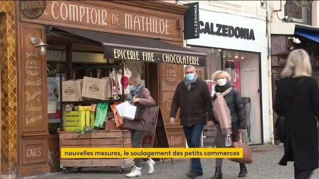 Nouvelles mesures sanitaires : les petits commerces soulagés de rester ouvert
