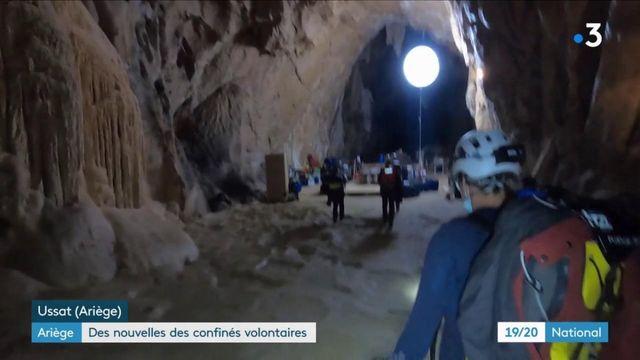 Expérience scientifique en Ariège : des nouvelles des 15 volontaires isolés dans une grotte