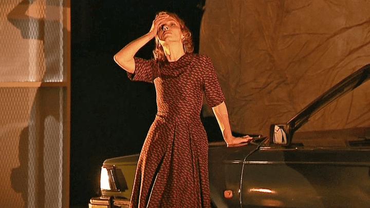 La comédienneJulie-Anne Roth  (France 3 / Culturebox )