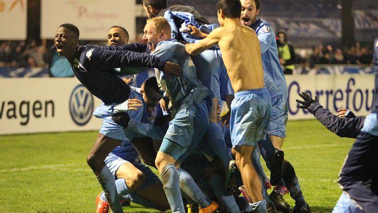 (Après avoir éliminé Clermont-Ferrand et Lille, les amateurs de Trélissac s'attaquent à Marseille ce jeudi soir © MAXPPP)