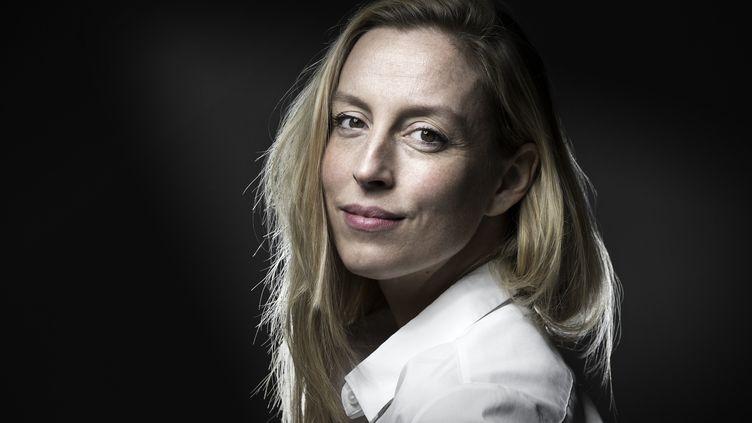 La romancière Adélaïde de Clermont-Tonnerre, le 19 octobre 2016. (JOEL SAGET / AFP)