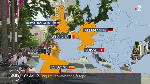Coronavirus : l'Europe instaure des mesures pour freiner la pandémie