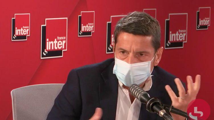 David Lisnard, maire Les Républicains de Cannes sur France Inter mercredi 14 avril 2021 (CAPTURE D'ECRAN/FRANCE INTER)