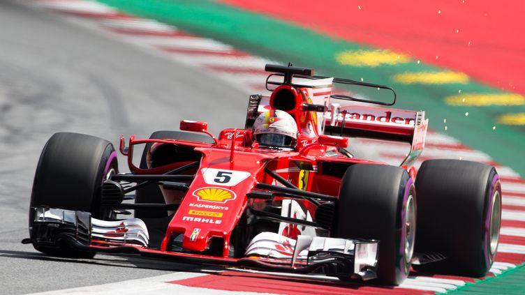Sebastian Vettel (Ferrari) (GEORG HOCHMUTH / APA)