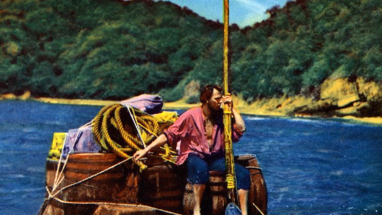 """Archives du film """"Les Aventures de Robinson Crusoe"""" de Luis Bunuel (1954). (ARCHIVES DU 7E ART / AFP )"""