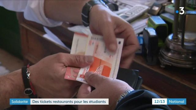 Précarité : bientôt des tickets restaurants pour les étudiants ?