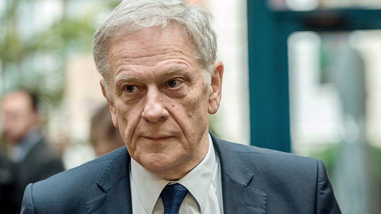 Pierre de Saintignon, alors candidat du PS à l'élection régionale dans les Hauts-de-France, le 3 décembre 2015 à Lille. (PHILIPPE HUGUEN / AFP)