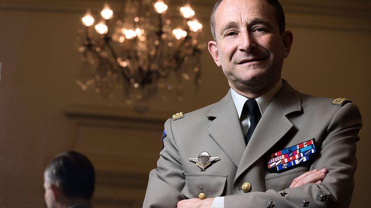 Le général Pierre de Villiers, chef d'état-major des armées, après sa prise de fonction, le 17 janvier 2014. (JOEL SAGET / AFP)
