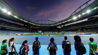 Rio stade olympique (YASUYOSHI CHIBA / AFP)