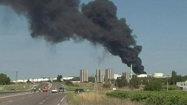Incendie à Berre-l'Etang : l'acte malveillant privilégié ?