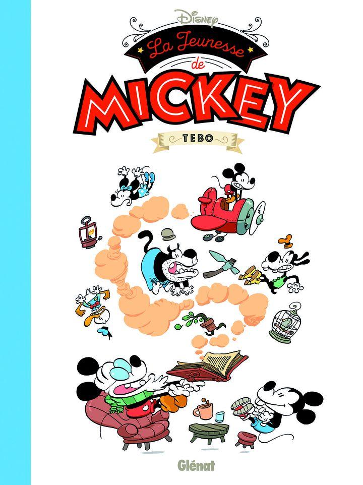 """Fauve d'angoulême, Prix Jeunesse, """"La Jeunesse de Mickey"""", de Tébo (Glénat)"""