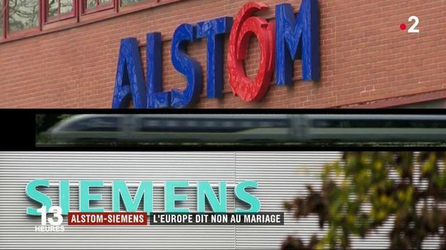 Alstom-Siemens : l'Europe met son veto à l'alliance franco-allemande